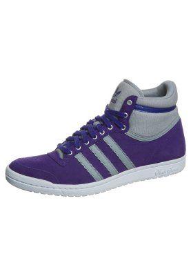 adidas Originals TOP TEN HI SLEEK - Sneakers hoog - Paars ...