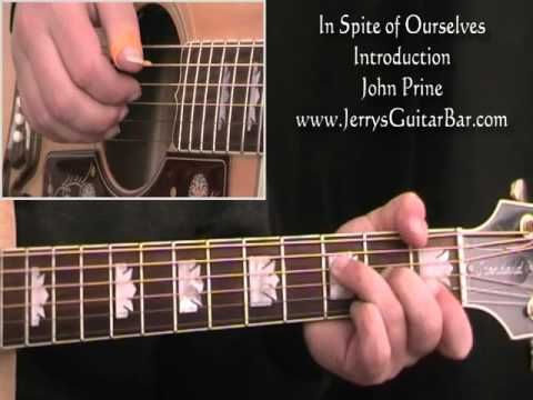 How To Play John Prine In Spite Of Ourselves Intro Only Youtube