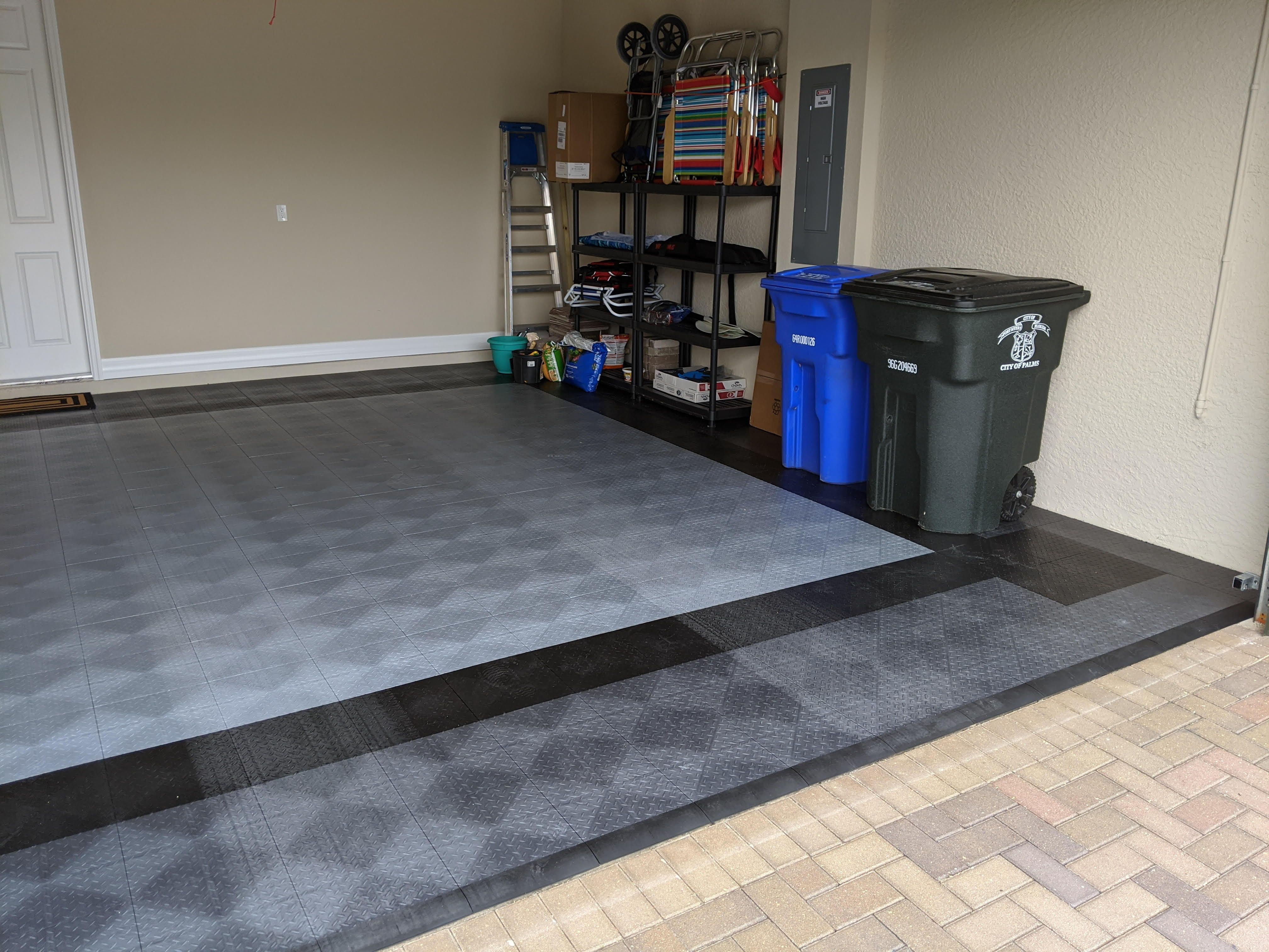 Epoxy Is Too Hard To Get Right Use Tiles Garage Design Garage
