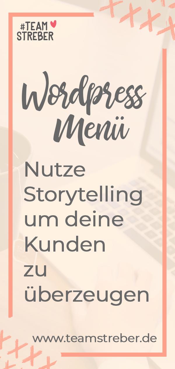 Webmenü Erzähl Eine Story Mit Deiner Navigation Homepage