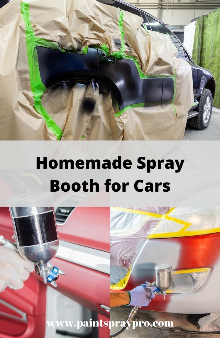 How to Make a Spray Paint Booth for Cars Spray paint