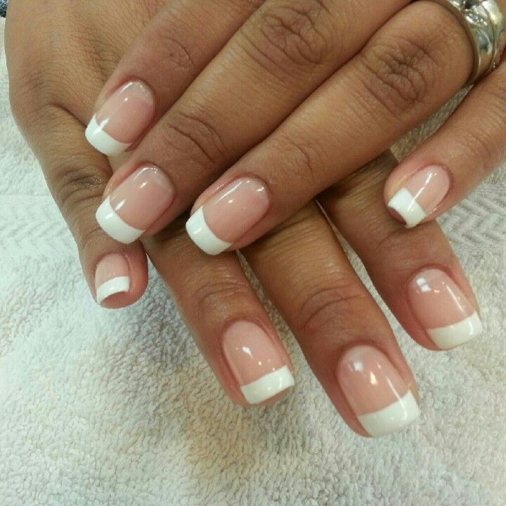French gel nails / Mma world series