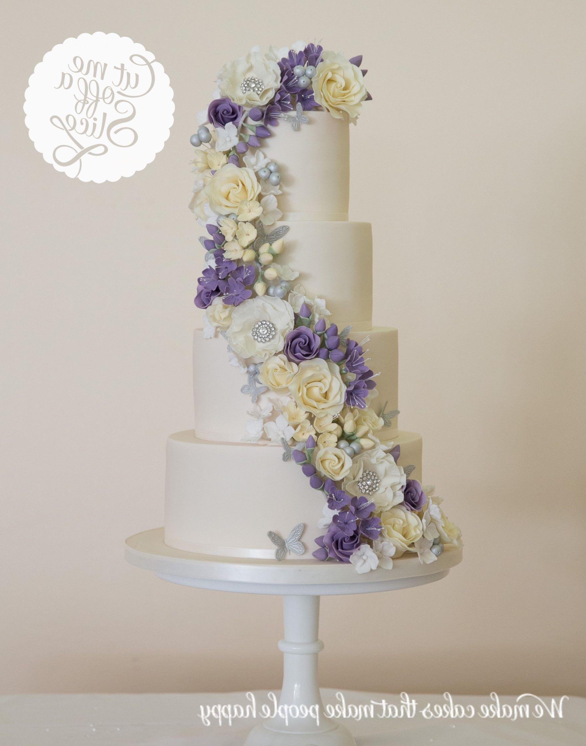 Wedding Cakes Near Wolverhampton (Dengan gambar)