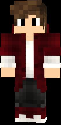 Cool Red White Boy X4 Nova Skin Minecraft Skins Minecraft Skins Boy Horse Armor