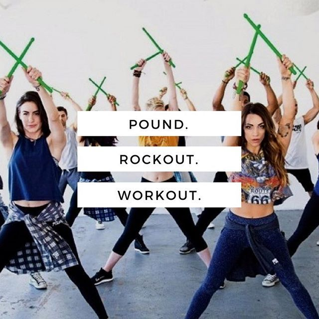 Try out POUND® - Rockout. Workout. is the world\'s first, full body ...