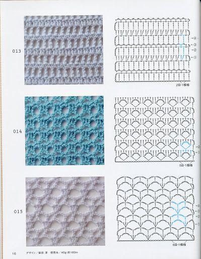 Grafico 13 14 15 Crochet Shawl Pattern Free Crochet Techniques Crochet Stitches Chart