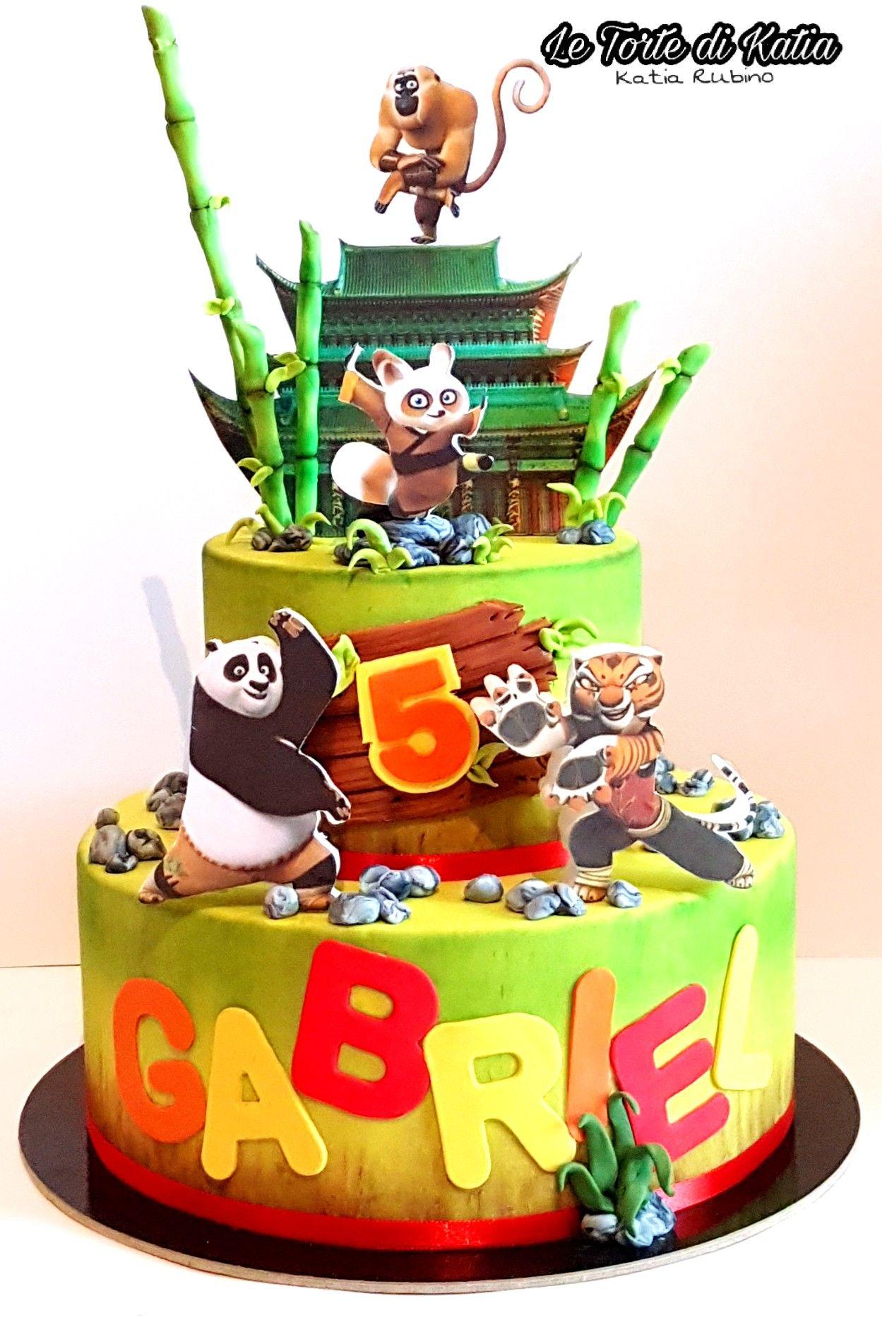 Torta Kung Fu Panda Kung Fu Panda Cake Panda Birthday Cake