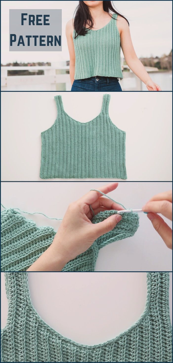Crochet Top For Summer Day's