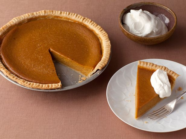 Apple Butter Pumpkin Pie #FNThanksgiving