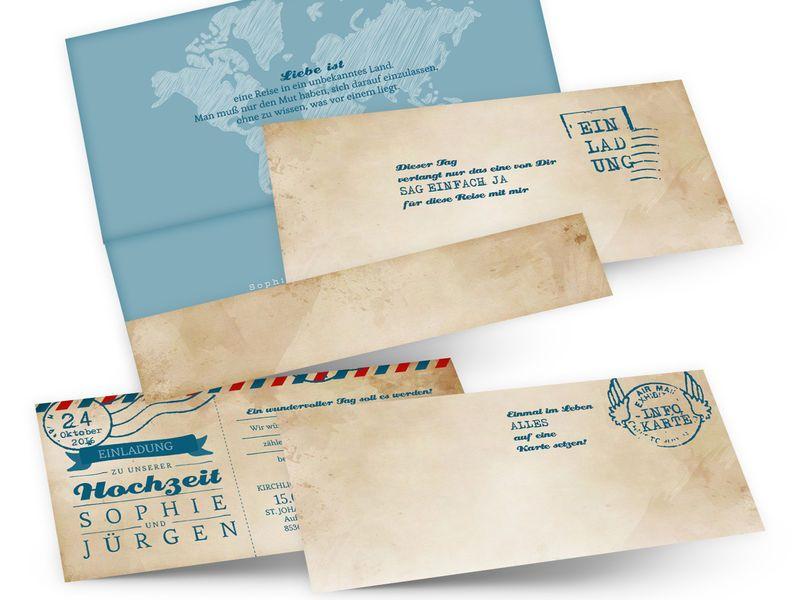 Designideen für Hochzeitskarten & Co Archives Einladen