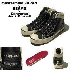 fc95c5be34a5 Mastermind Japan x Converse Jack Purcell Beams Limited