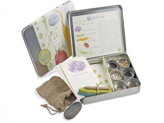 Stone Soup Garden Kit - cute idea for the kids
