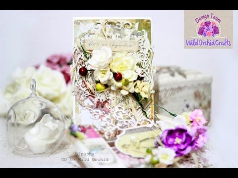 Wild Orchid Crafts(Multi-Layered Cards)- GD Bipasha K - YouTube