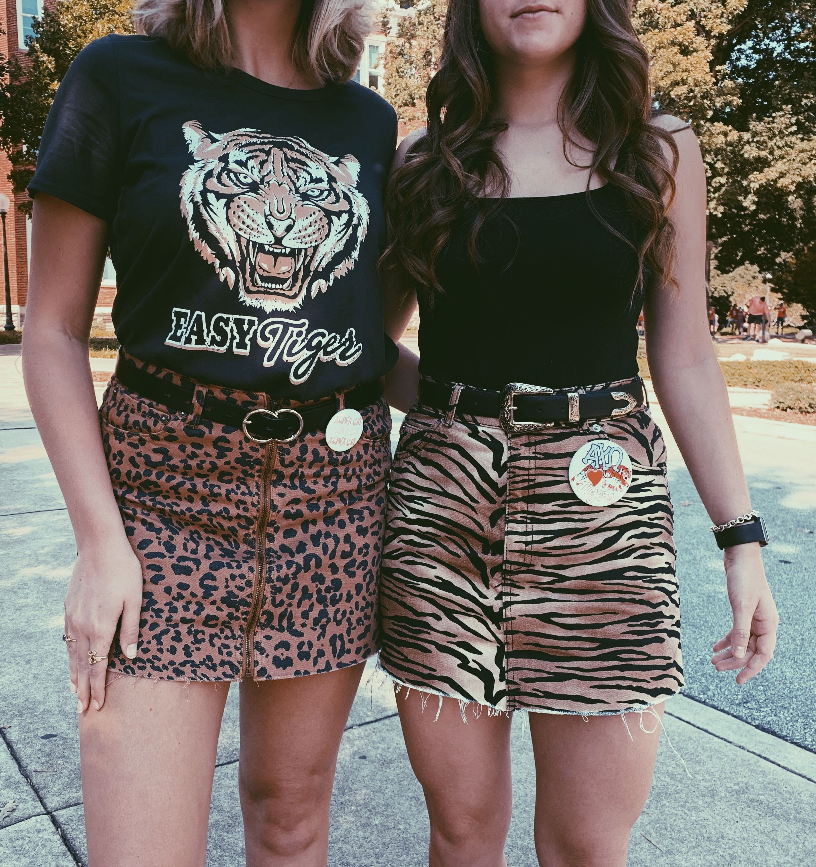 clemson tigers sorority football gameday outfit trendy