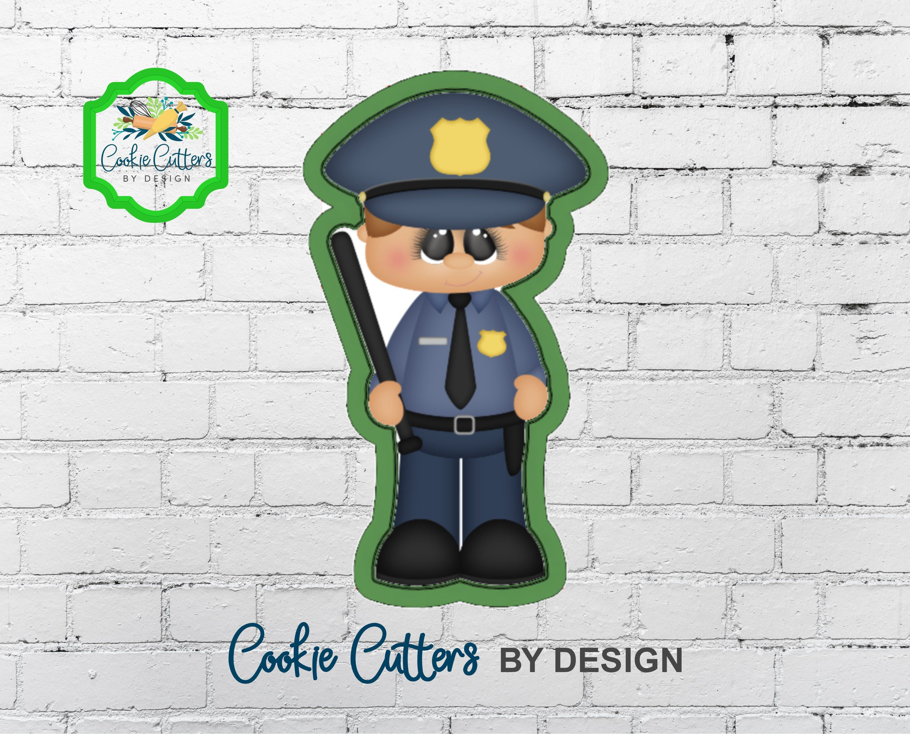 Boy Police ficer Cookie Cutter in 2019