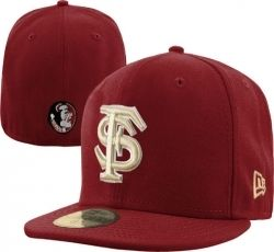 Florida State Seminoles New Era 59FIFTY Basic Fitted Hat  32.99 Made from  100% wool construction babe161f3f41