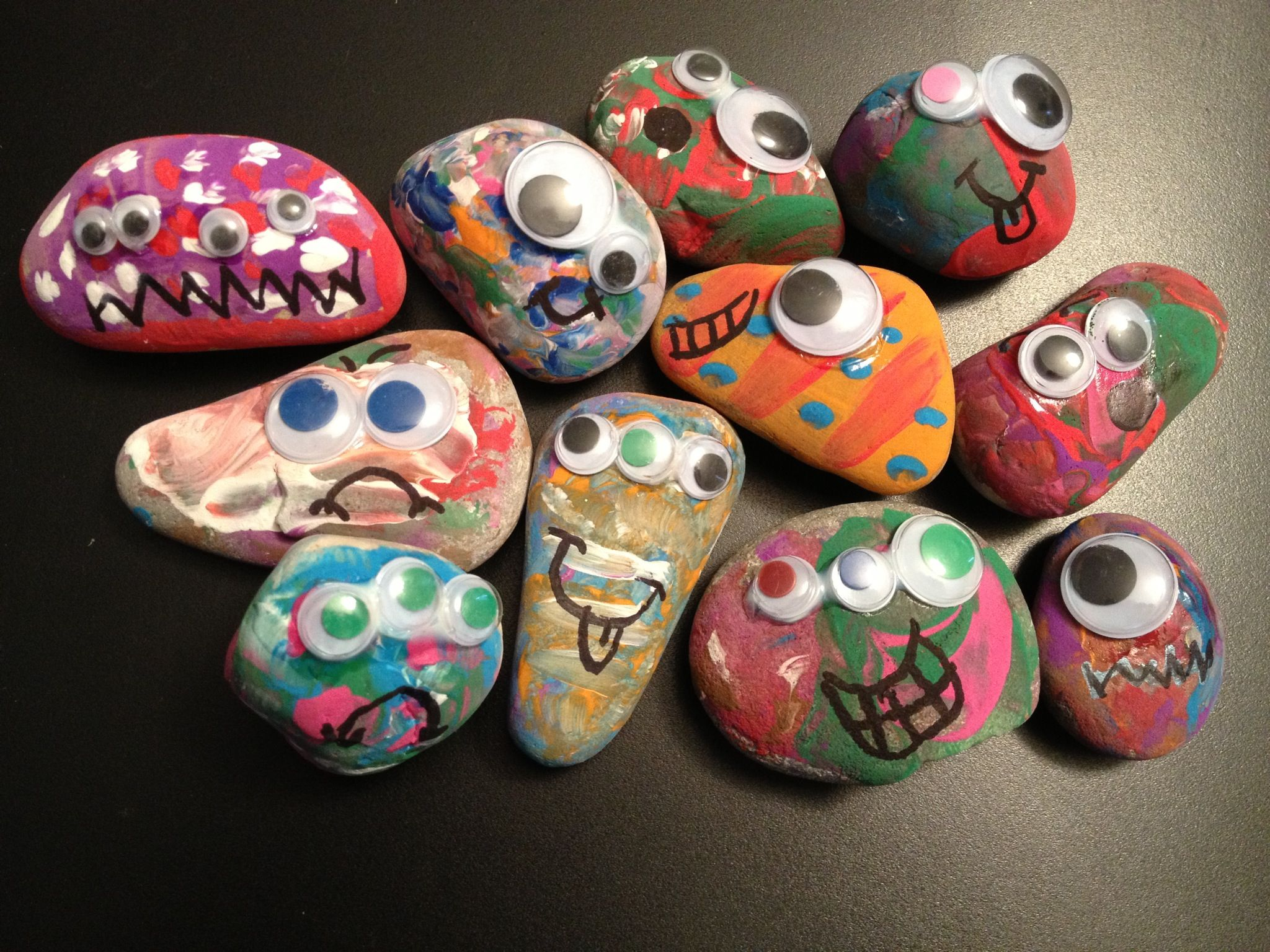 Rock Monsters!! My son loved making them!!!