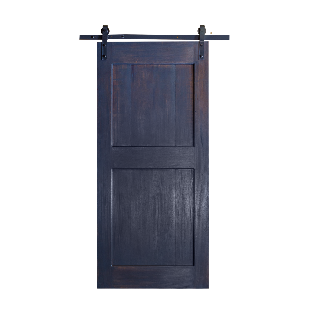 Barn Door 2 Panel Distressed Mahogony Bevel Edge Barn Door Wood Doors Barn Wood