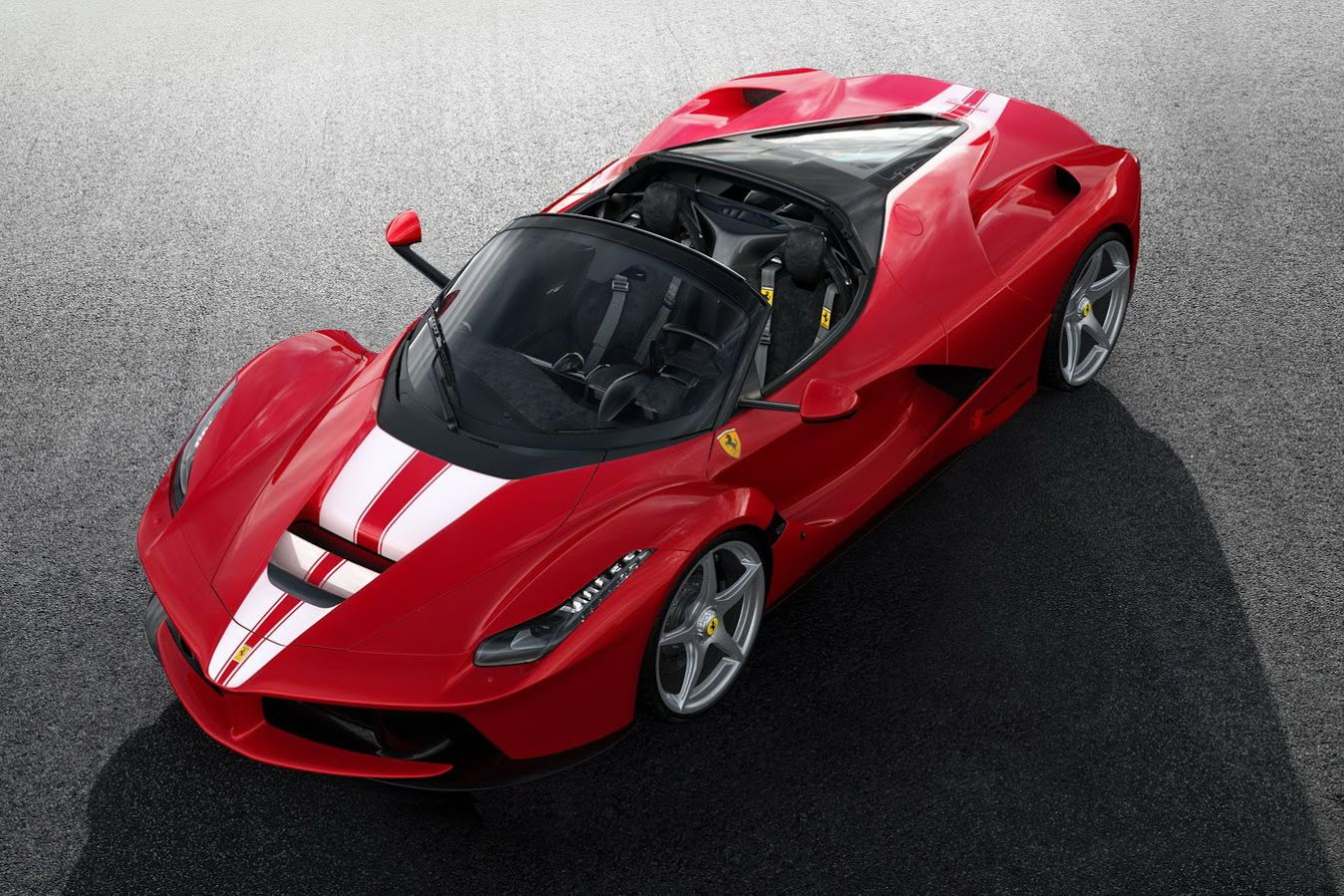 ferrari auctioning off final laferrari aperta for charity rh pinterest com au