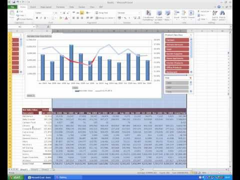 EXCEL PIVOT TABLE DASHBOARD IN UNDER 3 MINUTES - Excel 2016