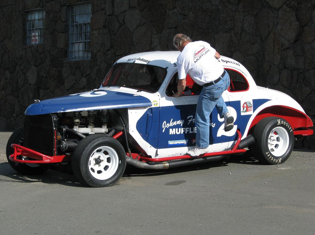 1940 Chevrolet Coupe, Johnny Franklin Special Hardtop Race