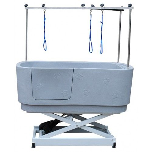 Aqualift electric dog grooming bath tub dog bath tub for A bath and a biscuit grooming salon