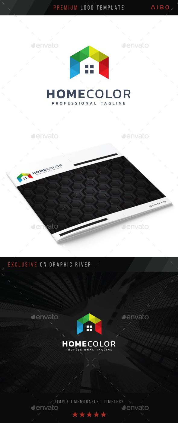 Home Color Logo Presentation Templates Pinterest Logos Logo