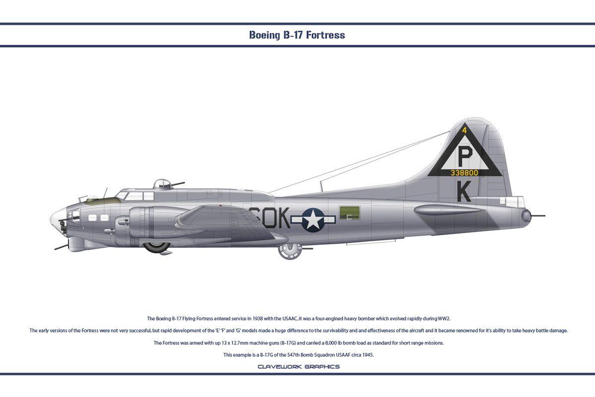 B-17G USA 547th BS 1 by WS-Clave.deviantart.com on @DeviantArt