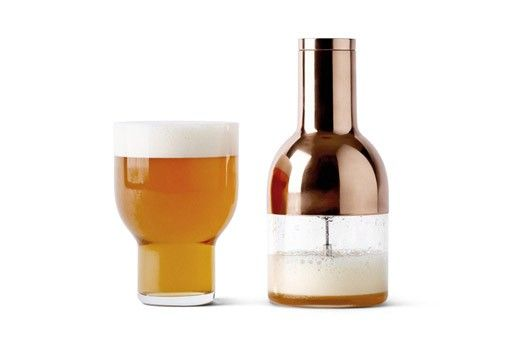 The Beer Foamer gets you as close to the Pub experience as you can without leaving your home. Denser beer foam will significantly increase the taste, aroma and feeling of the beer - just like beer fresh from the tap.---Gessato