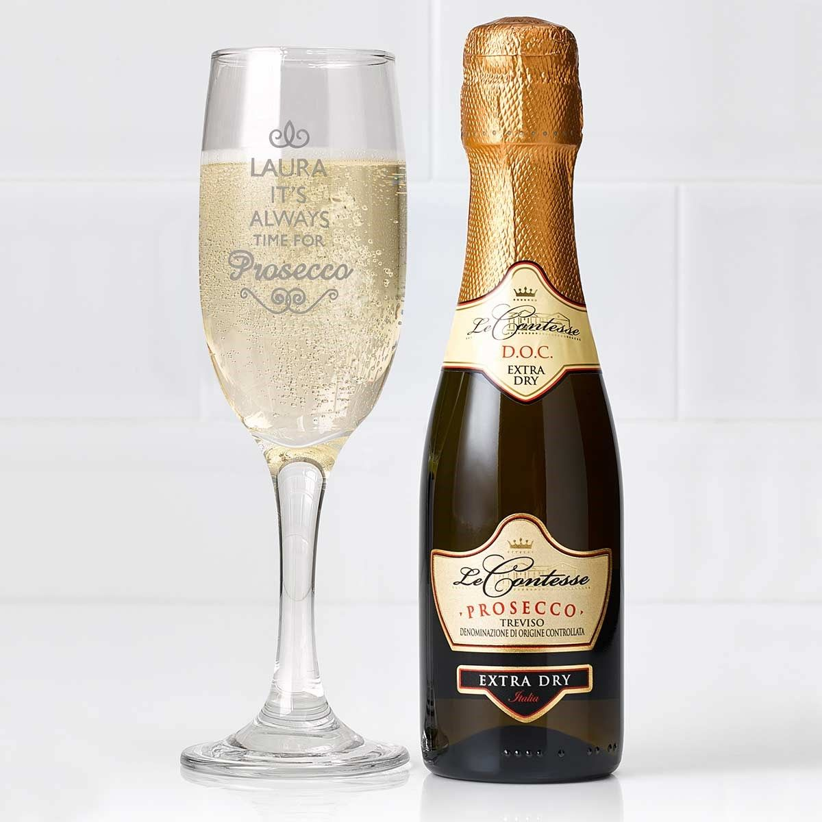 Italian Design Gifts Personalised Prosecco Gift Set Exclusive Gift Valentine