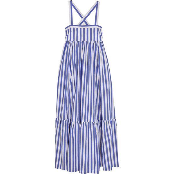 1c1744dbc342 J.Crew + Thomas Mason Honduras striped cotton-poplin maxi dress (€380