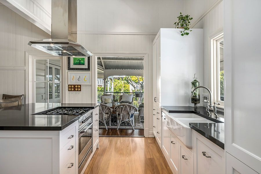 renovated queenslander kitchen queensland homes magazine house and home magazine on outdoor kitchen queensland id=61132