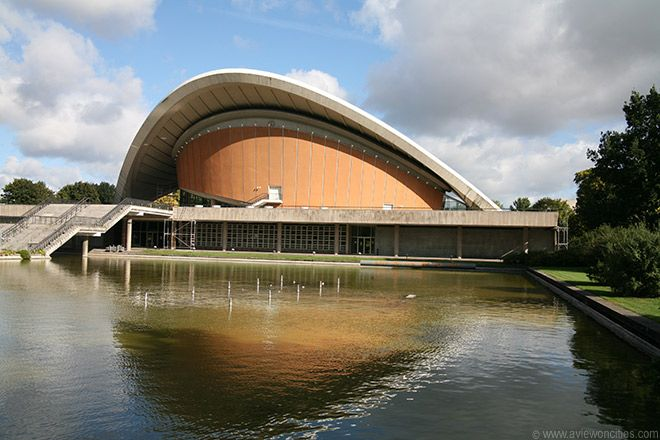 The House Of World Cultures Was The Contribution Of The United States To The Interbau 1957 Building Exhibition In Berlin The Building Is Nick Haus Kultur Welt