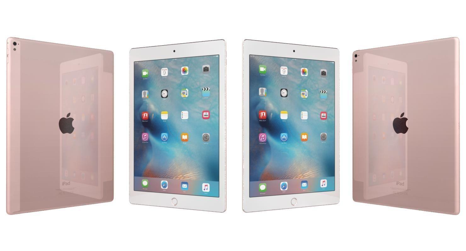3D Model: Apple iPad Pro 9.7 Rose Gold #91529821   Pond5