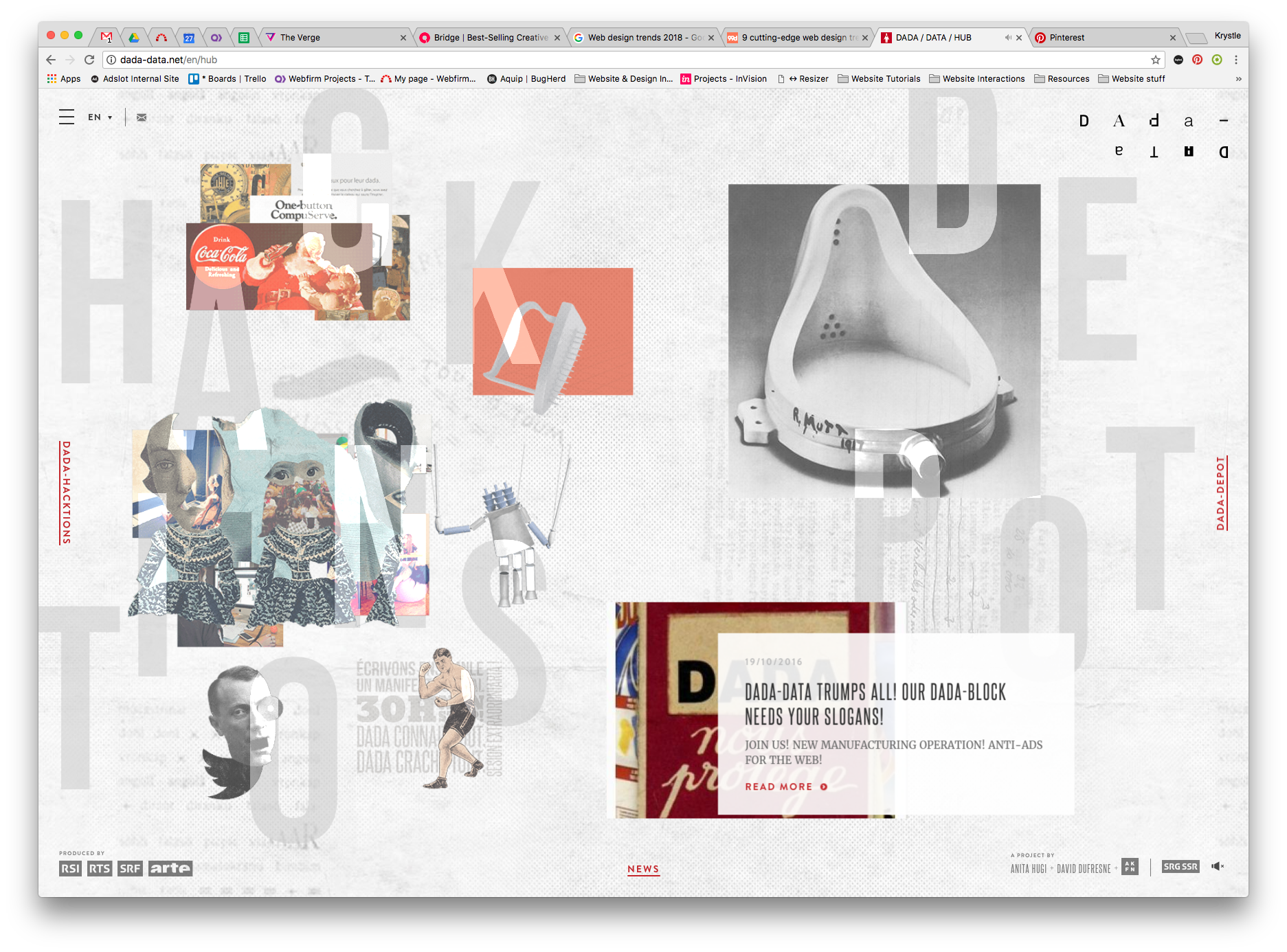 Asymmetry And Broken Grid Layouts Great Interaction Web Design Trends Web Design Web Layout Design