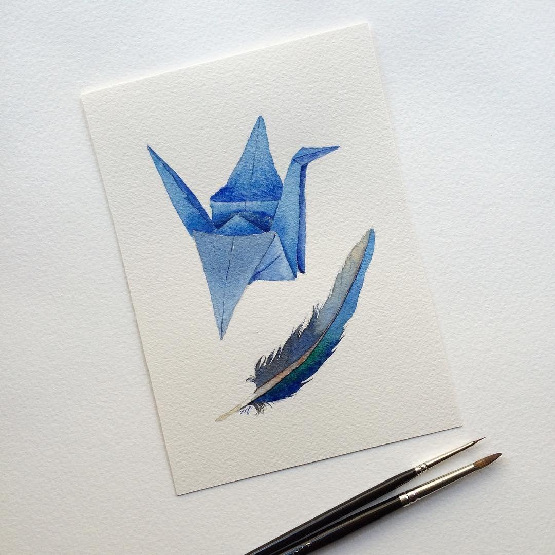 Amigurumi origami crane - Free pattern - designed by Dendennis | 1080x1080