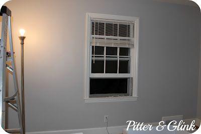 Craft Room Redo The Perfect Gray Walmart Paint Colors Best Gray Paint Color Gray Painted Walls