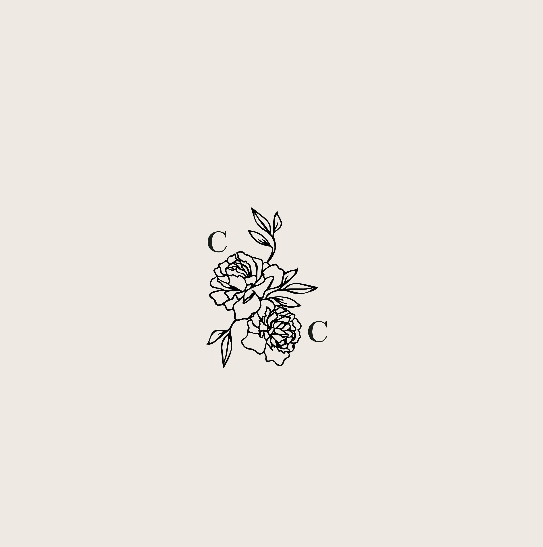 Vorgefertigtes Logo Feminine Logo Logo Design Brand Design Tattoo Graphic Tattoo Graphic Flower Tattoo Designs Bird Tat In 2020 Minimalist Tattoo Tattoos Feminine Logo