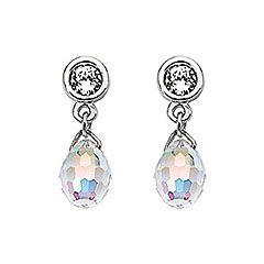 Beautiful Aurora Borealis Earrings to sparkle up any wedding outfit #swarovski