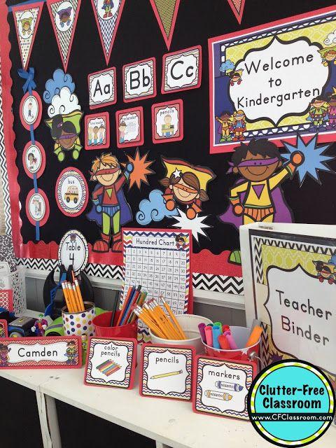 Superheroes Themed Classroom Ideas Printable Classroom
