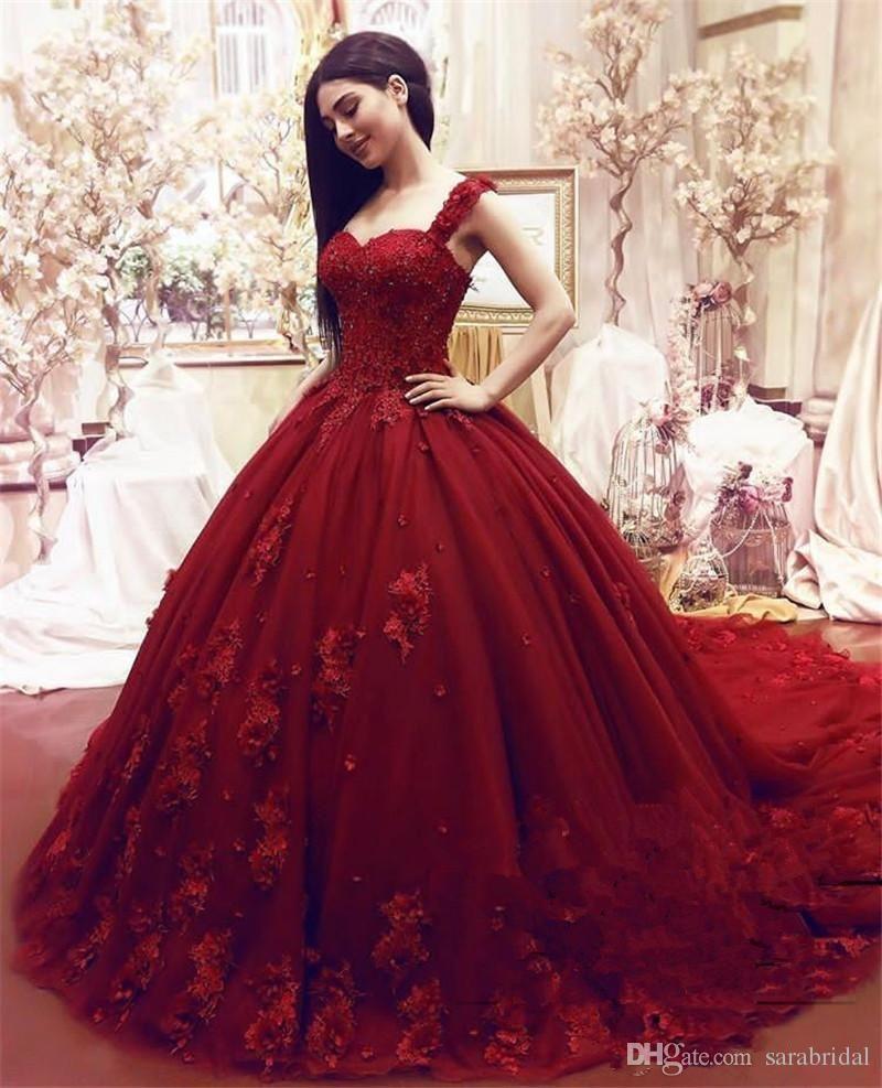 Fashion Sweet 16 Dresses Prom Detachable Strap Lace Applique