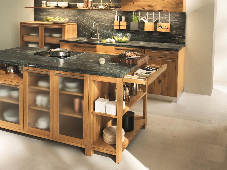Naturholzküchen küche loft holz wildeiche natur geölt naturholzküchen team7