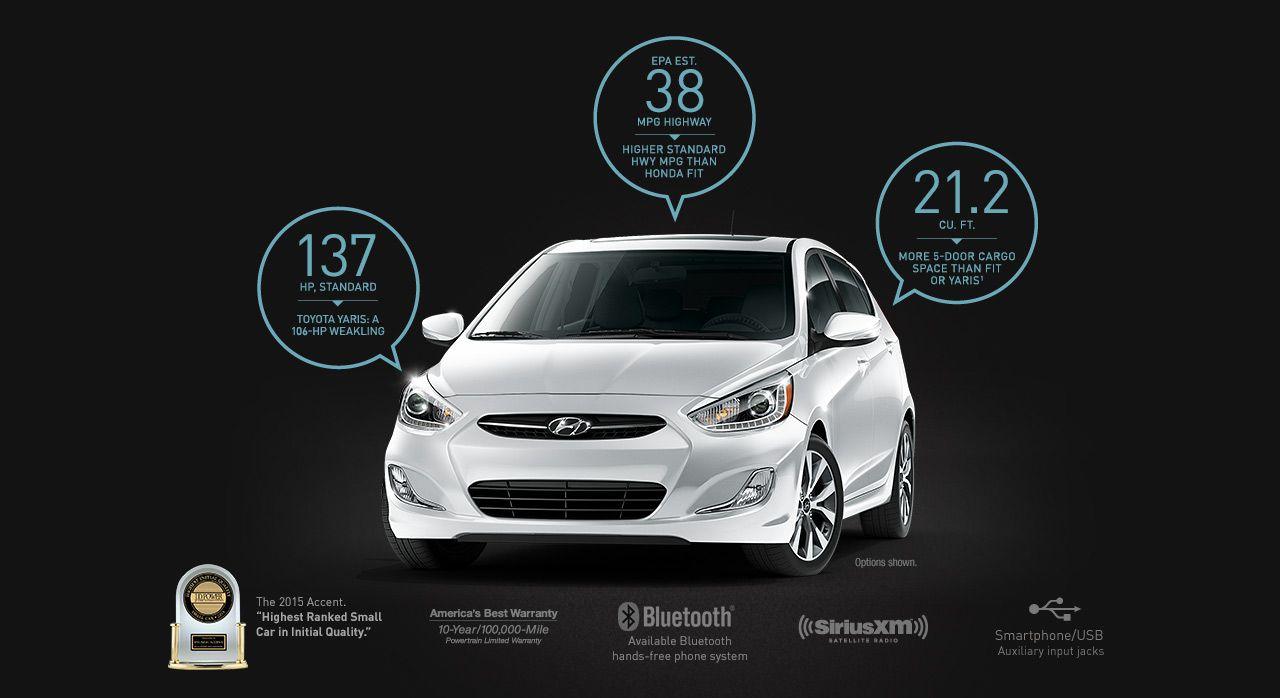 2016 Hyundai Accent Compare 1 Hyundai accent, Hyundai