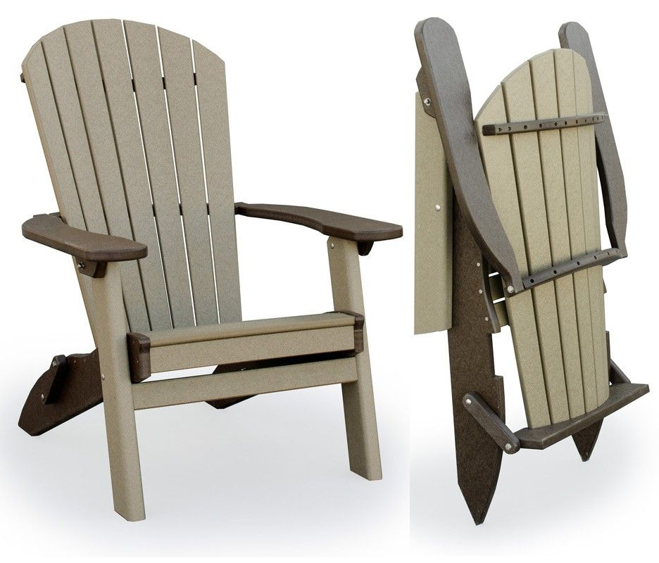 Polywood Adirondack Chair  348  gifts for him  Outdoor