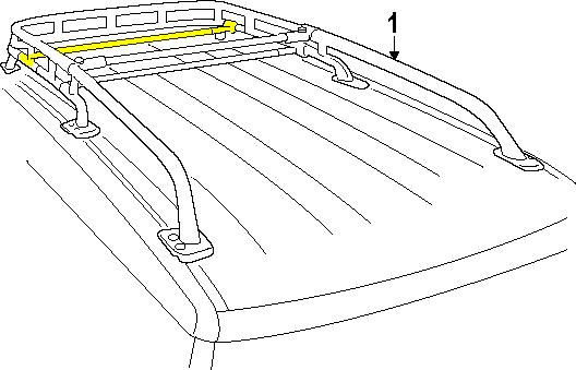 Fj Cruiser Replacement Crossbar For Roof Rack Adjustable Pt278 35120 Aa 56 99 Fj Cruiser Fj Cruiser Accessories Toyota Fj Cruiser