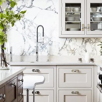 Marble Slab Backsplash Design Ideas Kitchen Inspirations