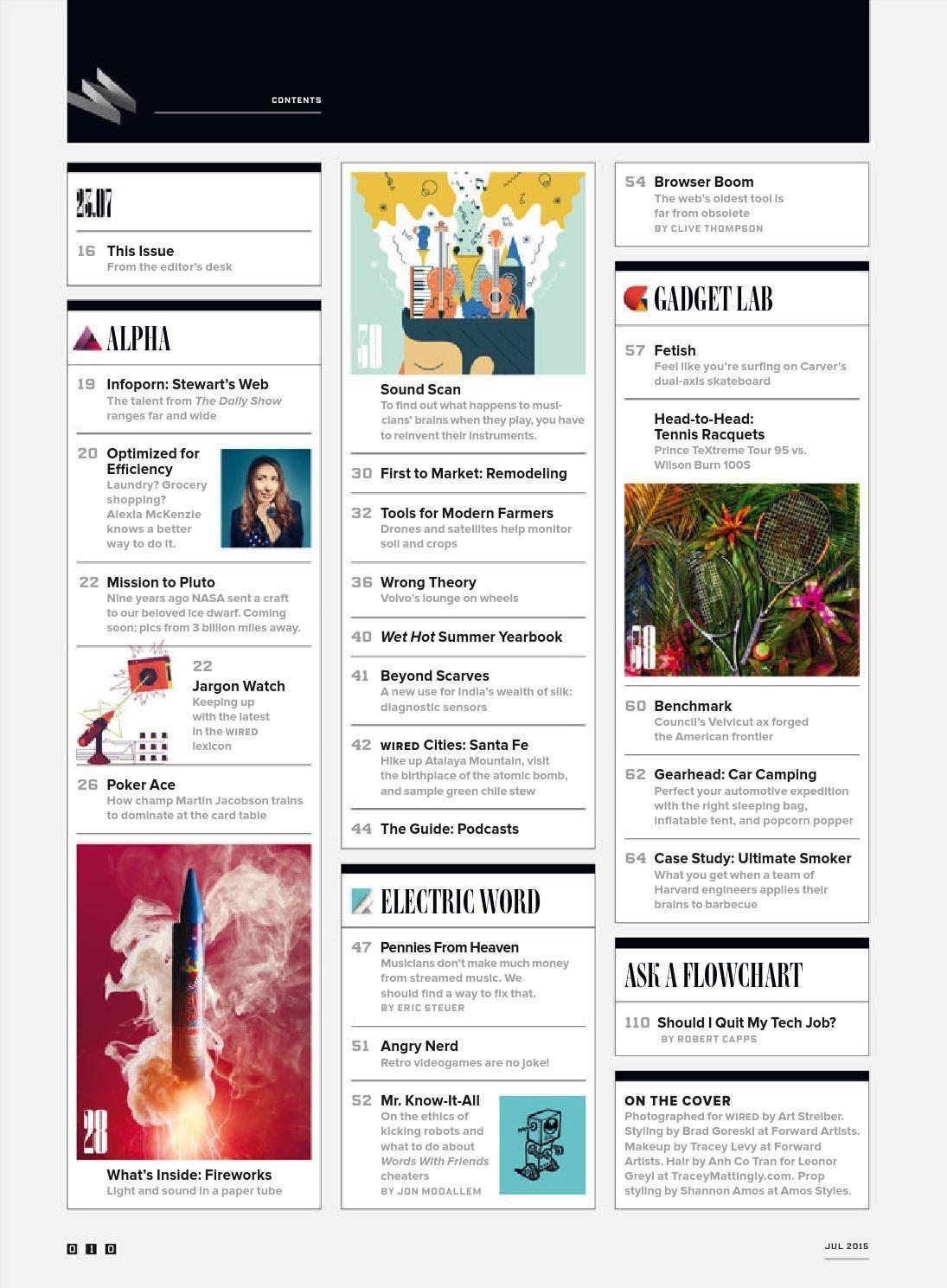 Wired usa july 2015 | Magazines