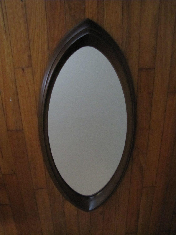 mid century modern oval mirror syroco mirror cat eye shape mid century modern oval mirror syroco mirror cat eye shape mirror oblong wall mirror retro home decor mid century mirror