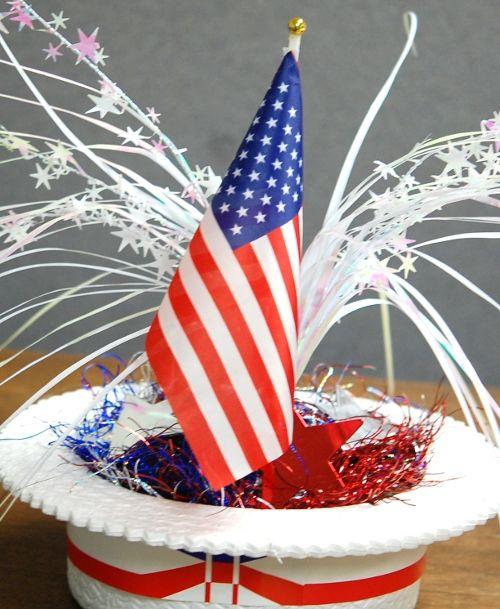 DIY Patriotic Centerpiece