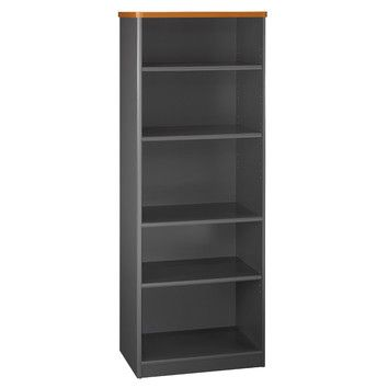 Series A Standard Bookcase Bush Business Furniture Bookcase 5 Shelf Bookcase